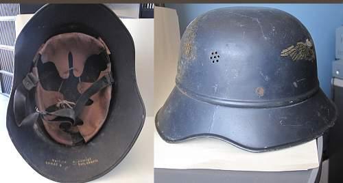 Luftschutz Helmet variety ID needed