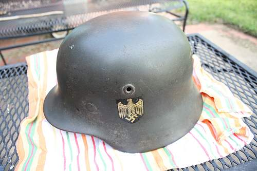 What do you think of this decal on an M40 Helmet?