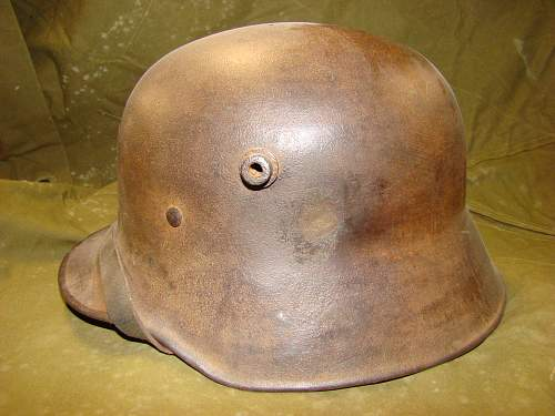 WW1 transitional helmet for review