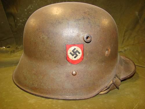 Transitional polizei helmet for rewiew