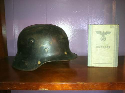 M-1935 With Soldier ID book