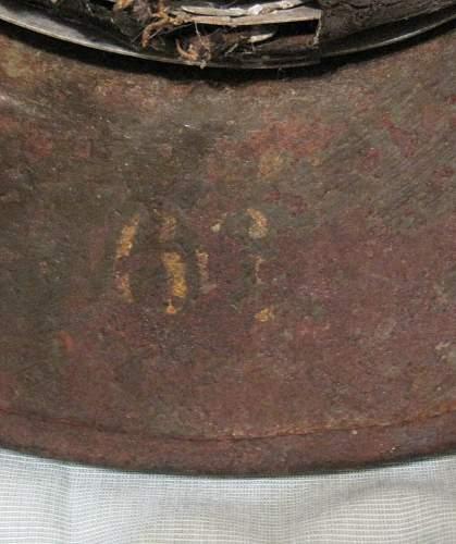 WW2 Helmet with 2 decals...