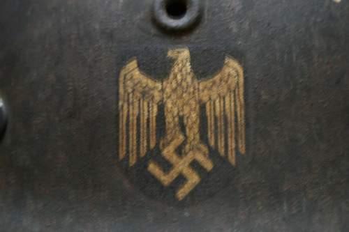 German M42/40 helmet