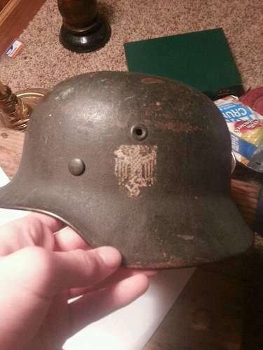 Help on a SD HEER helmet along with an armband
