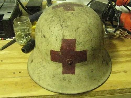 WWII Medic Helmet NS64