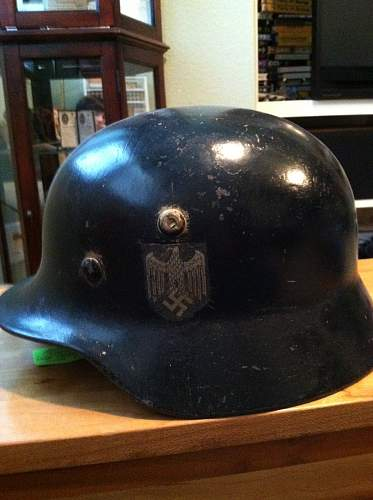 Opinions on M40 helmet decal?