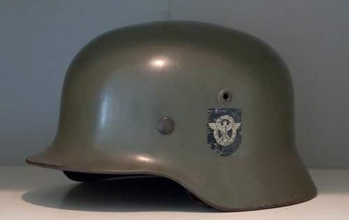 my new m35 feldpolzei