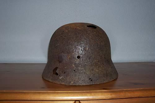 How German helmets were made