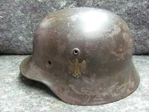 German helmet, what do you think ?