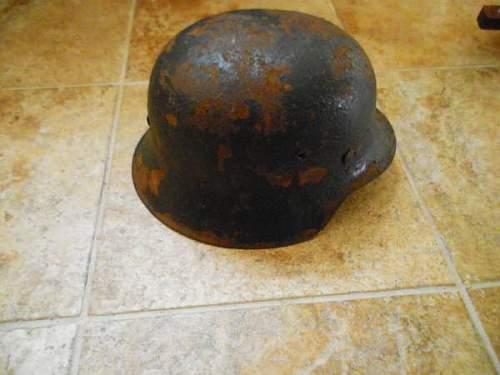unknown german helmet