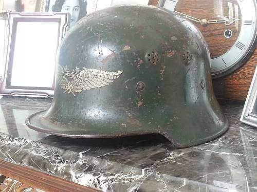 WWII German early M34 Luftschutz