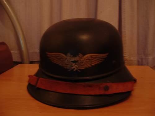 Luftschutz helmet *with pictures*
