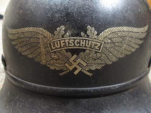 My new beaded Luftschutz