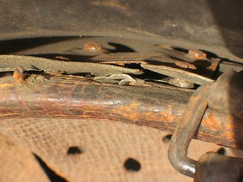 Reinforcing plate liner repair M42 NS64 B01