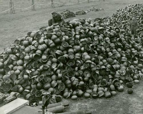 Heer and Luftwaffe Surrender Pile