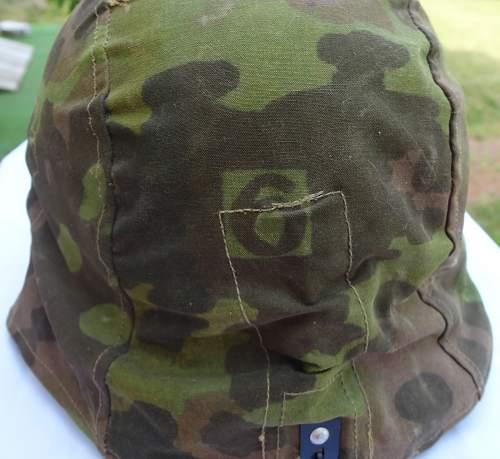 German helmet cover!
