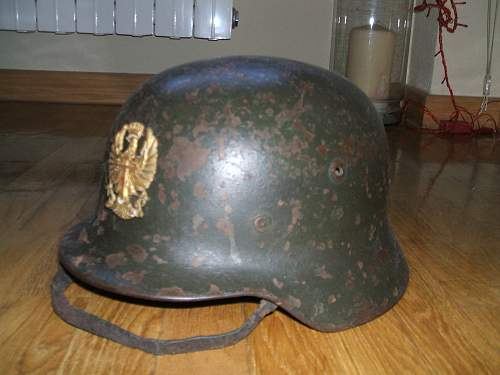WWII German Helmet Authentic?