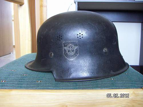 m1935 polizei civic helm