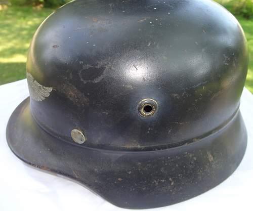 Large size Q68 Beaded Luftschutz