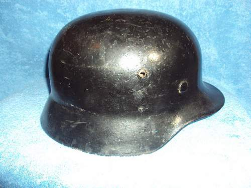 German helmet m35 foreign volunteer helmet ????