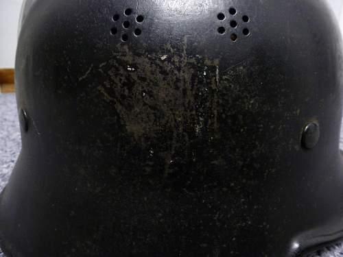 WW2 German Feuerwehr Helmet