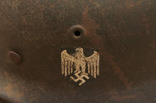 Dachbodenfund Helmets Herr & Luftwaffe