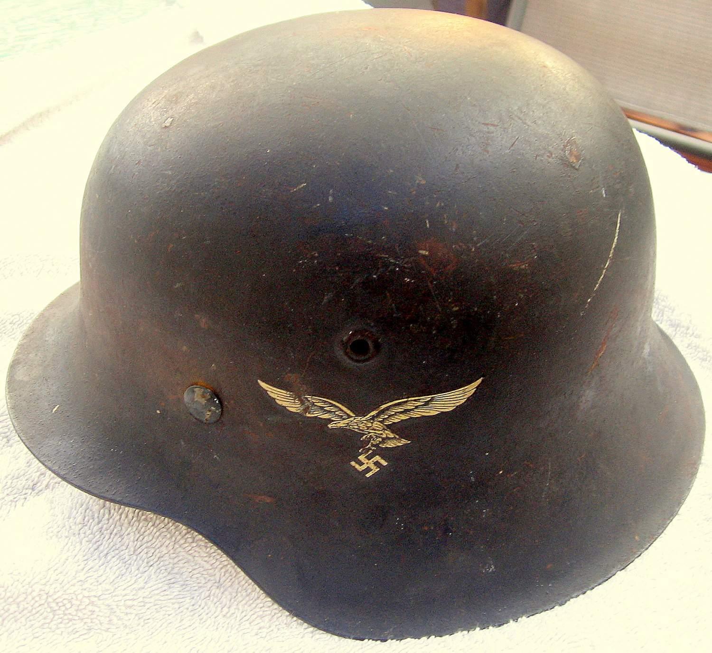 Worth Of WW2 German Helmet