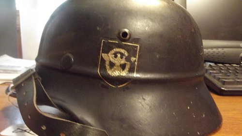 Potential purchase Beaded M35 Fire Police helmet