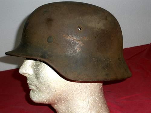 dd luftwaffe helmet: is it original?