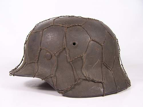 M40 chickenwire helmet for review