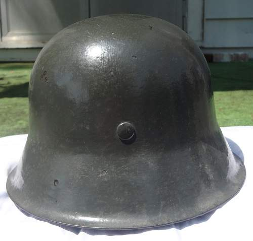 Nine dollar Childhood M-42 Helmet
