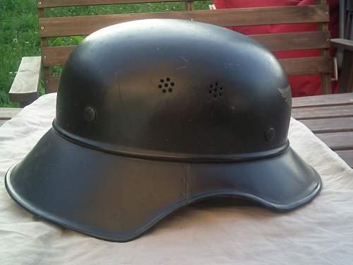 "Gladiator ""Luftschutz"" helmet"