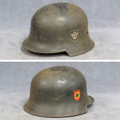 German police helmet