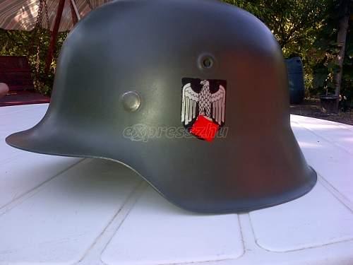 LOT WW2 wehrmacht german helmets - original or not?
