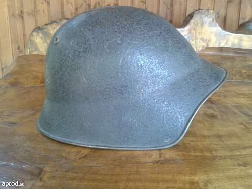 German and hungarian helmet WW2 LOT