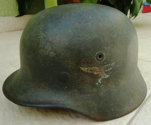 Opinion about luftwaffe m40 helmet