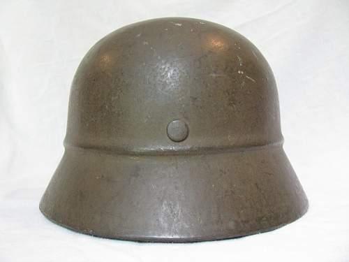 M40 Beaded Helmet - Ordnance Tan - EF62 - Lot # 855?