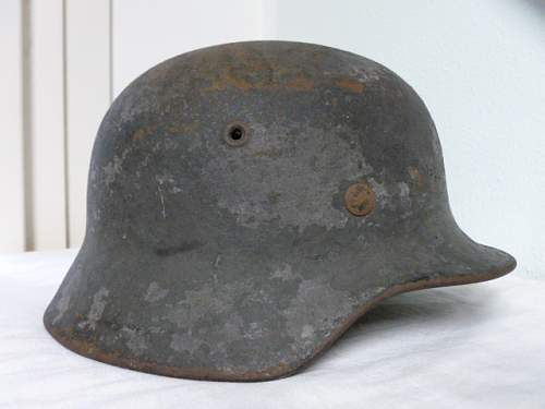Can be a coastal artillery helmet?