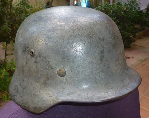 Help me on this helmet, please!