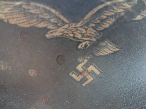 Luftwaffe M-40 Q Manf Personalized