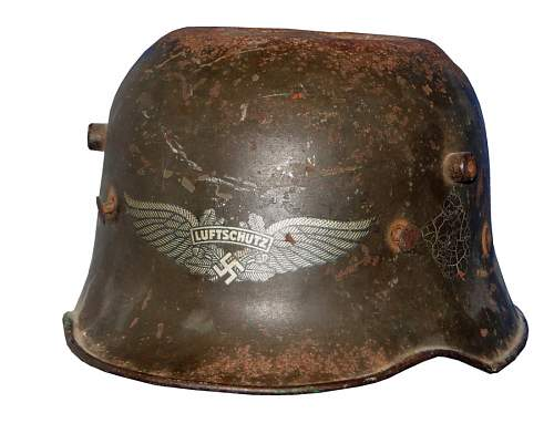 Click image for larger version.  Name:wwi-transitional-helmet-front.jpg Views:106 Size:131.3 KB ID:571419