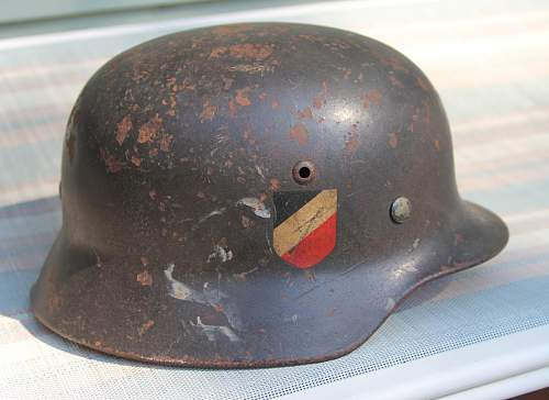 Thoughts on this M35 DD Luftwaffe Helmet