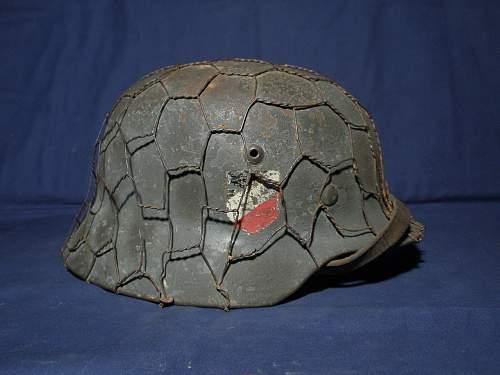Wehrmacht double decal helmet. Decal help!!!