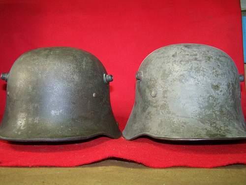 Latvian M 16 helmet