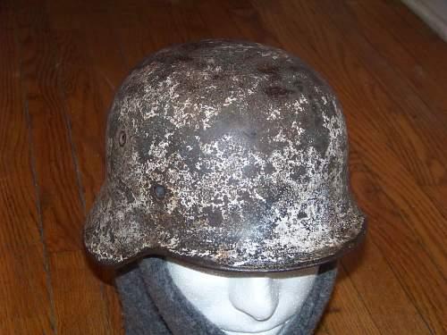 M42 camoed Helmet