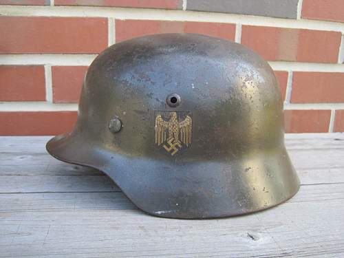 Helmet with questions