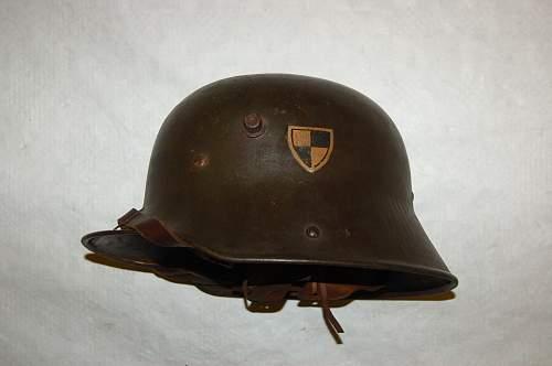 Leibkompanie 1st Foot Guards M16 Helmet