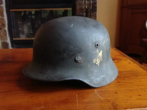 What was your first german helmet?