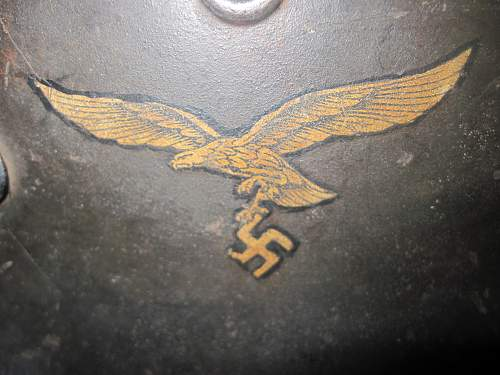 Luftwaffe Helmet - Any Help would be appreciated