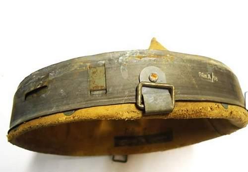 Original german helmet liner? Need opinions...